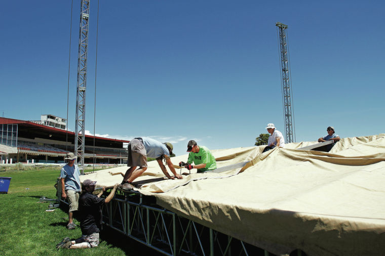 New outdoor stage at the Downs to host summer concerts