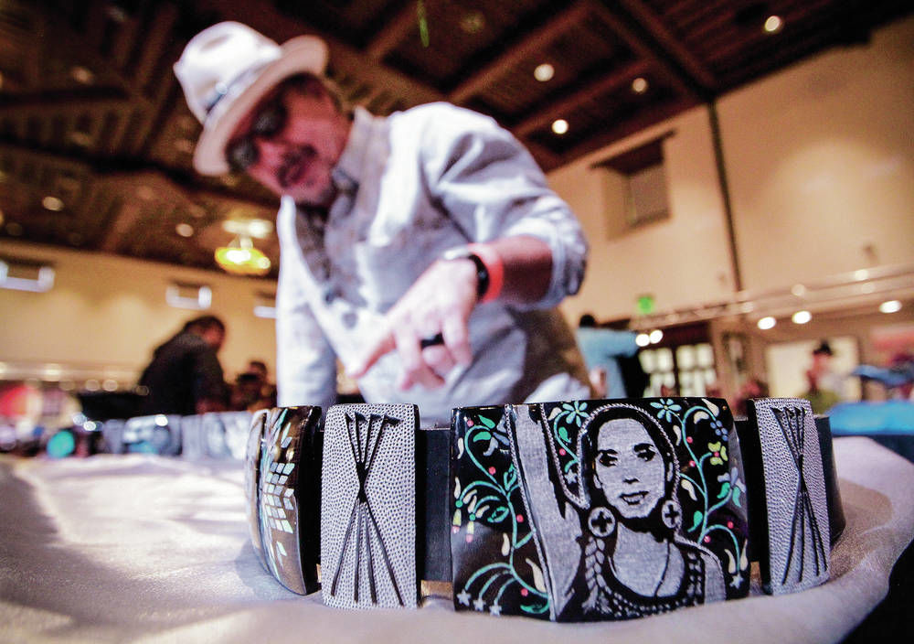 Best of Show at Indian Market honors women's courage
