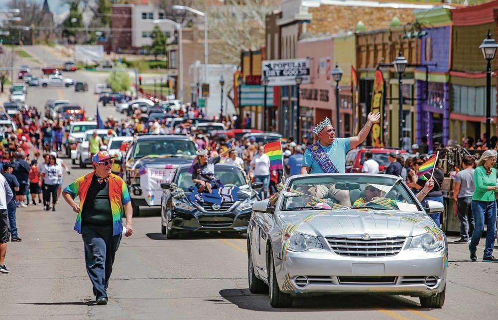 Las Vegas, N.M., celebrates inaugural Pride Parade