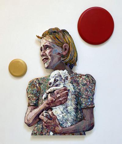 Hung Liu at Turner Carroll Gallery