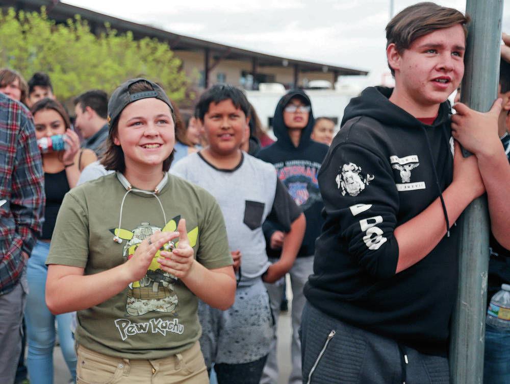 ATC students stress unity at Second Amendment rally