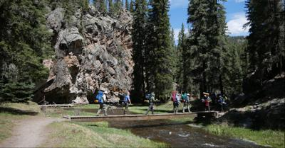 Day Hike: Lingering along Las Conchas Trail