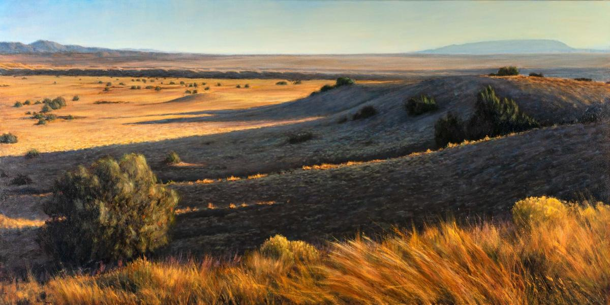 Splendor in the desert grass: the paintings of Peter Hagen