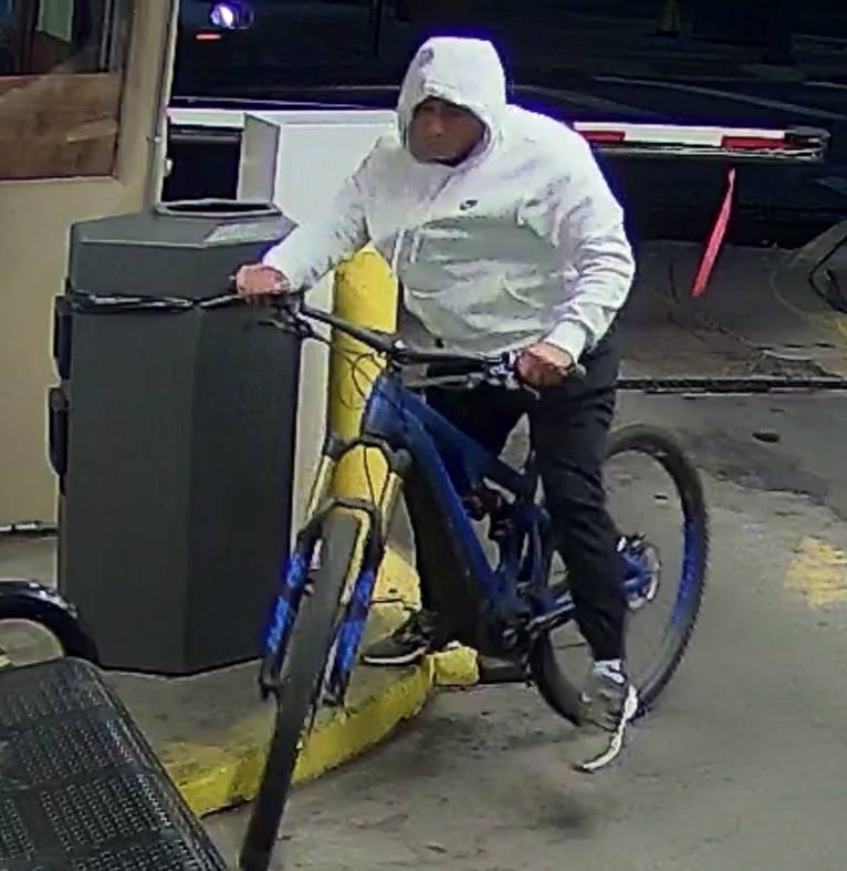 Alleged bike thief