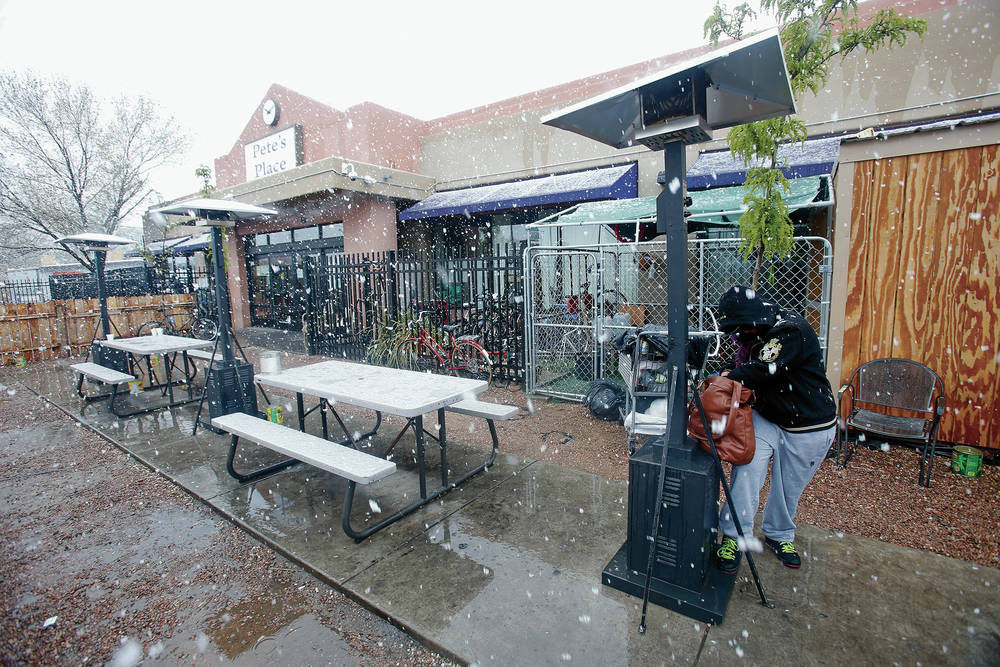 Late snow, freezing temps hit Santa Fe