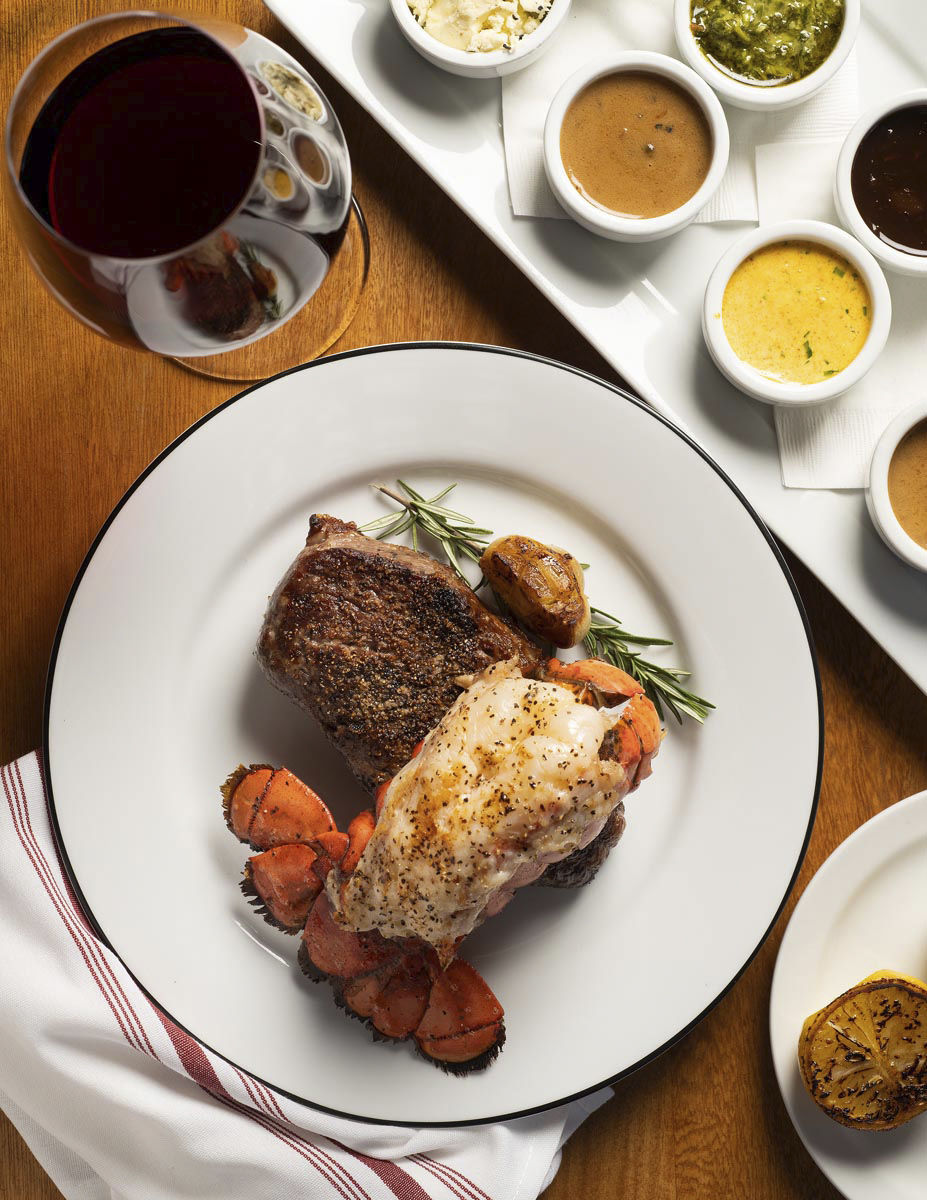 Hints of heat: Market Steer is a steakhouse in the New Mexico tradition