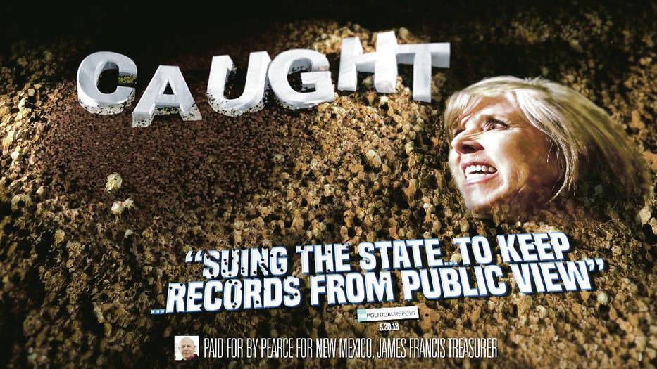 Attack ads belie civil debate between New Mexico gubernatorial