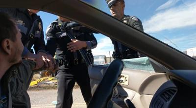 Video Of State Police Breakingdriver Side Window Goes Viral