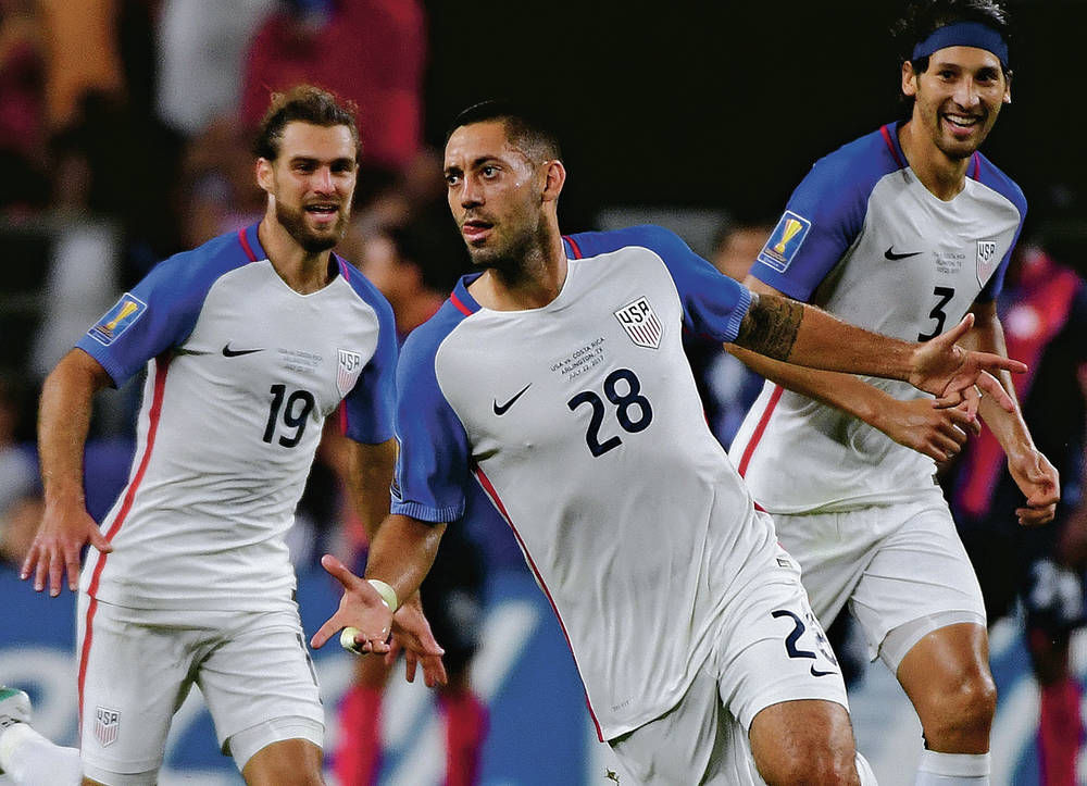 Clint Dempsey ties USA men's goal-scoring record