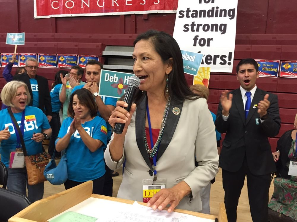 State Democrats elect first American Indian to lead party