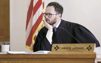 Judge Lidyard won't recuse himself from embezzlement case