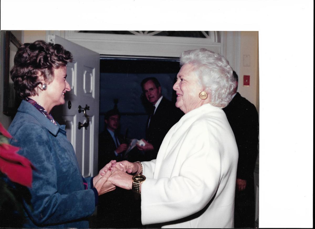 Barbara Bush and memories of Blair House