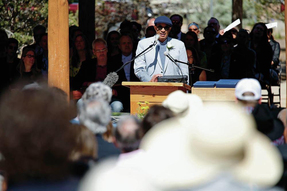 Emmy-winning musician who's also blind returns to alma mater Santa Fe Prep for commencement speech