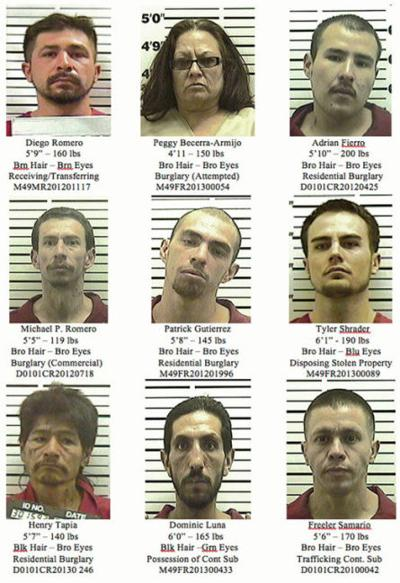 Santa Fe Police Department's nine most wanted | Local News