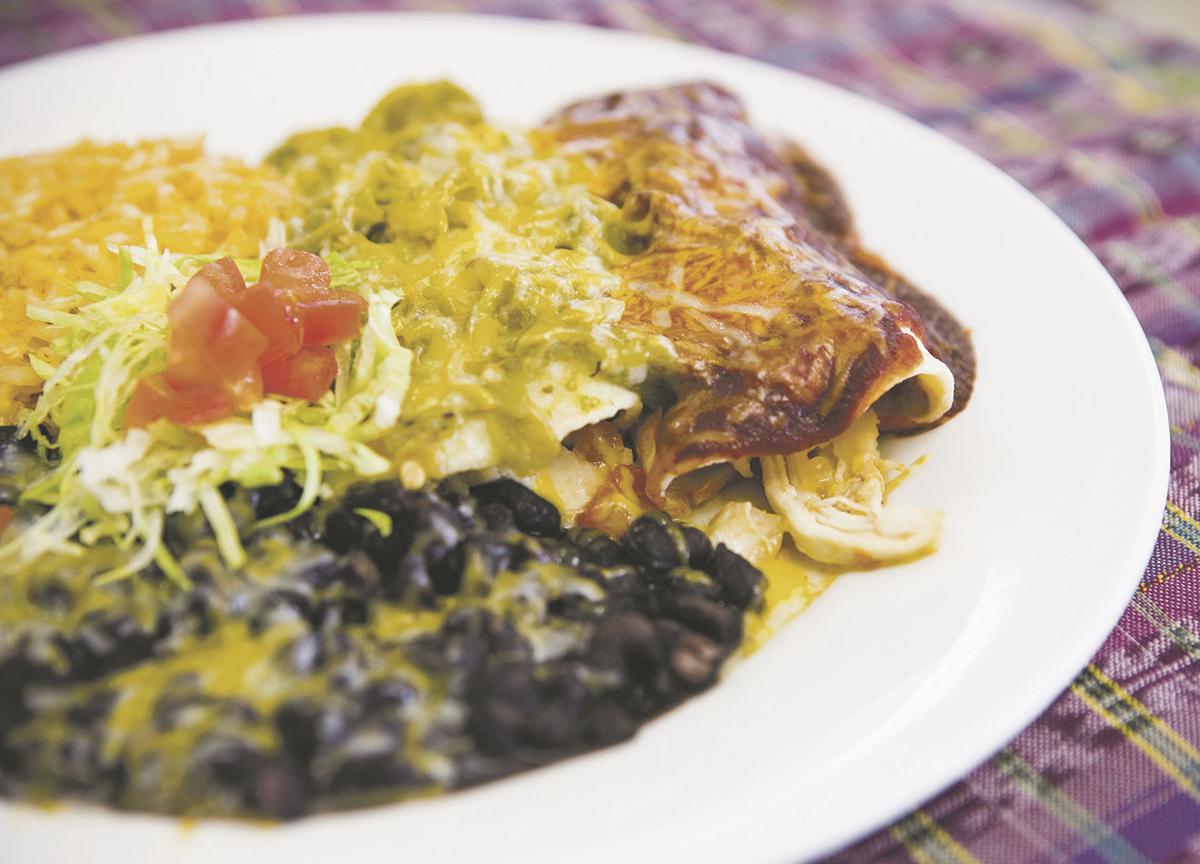 sagche restaurant chicken enchiladas