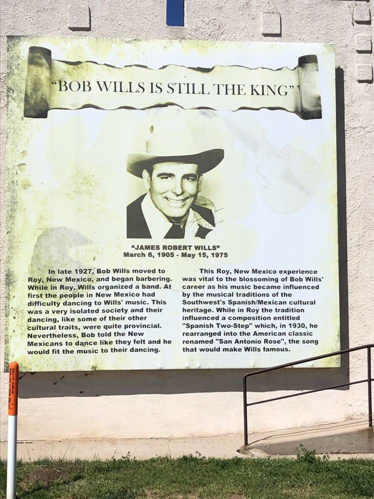 A king with roots in New Mexico