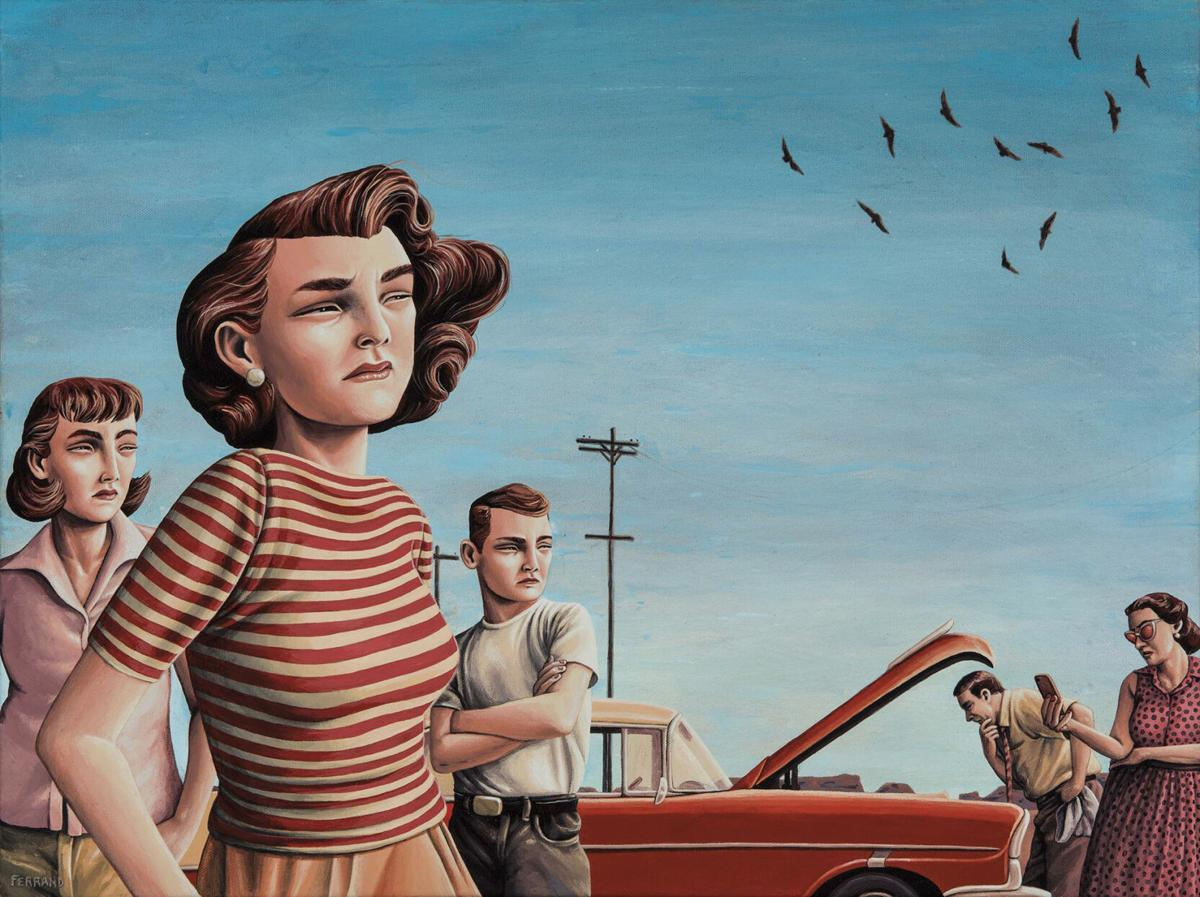 Miles away: Painter Gregory Ferrand