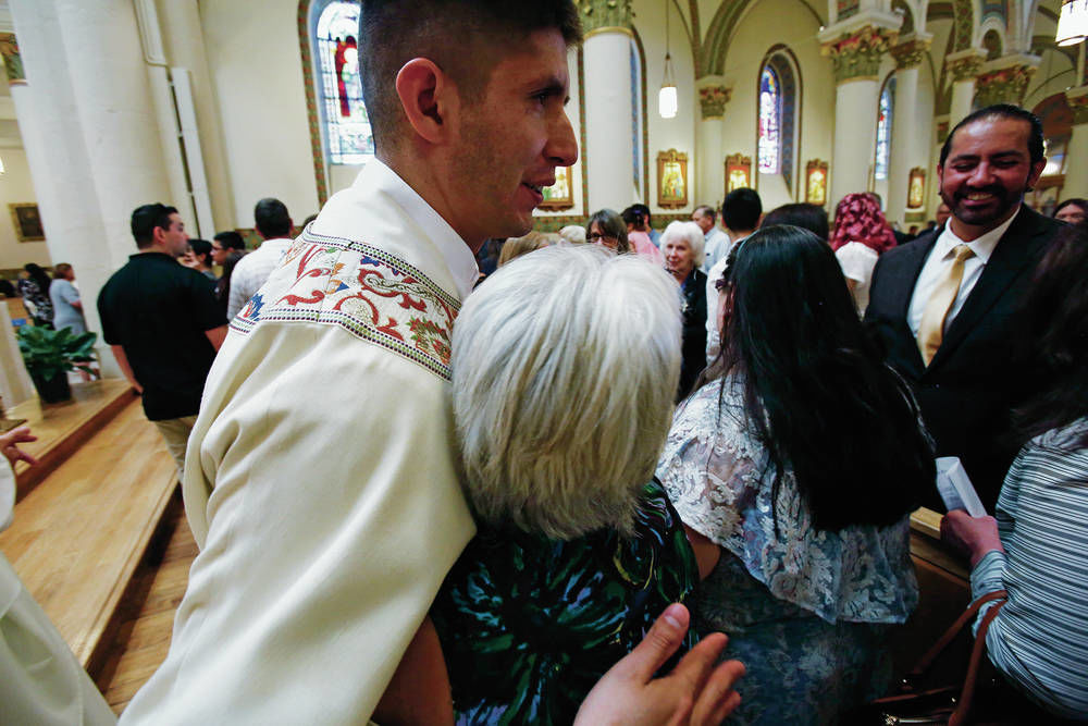 Archdiocese ordains two priests, one a Santa Fe native