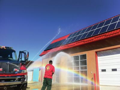 Picuris Pueblo celebrates new firehouse, renovated gym