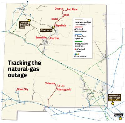 Natural-gas crisis: A chronology