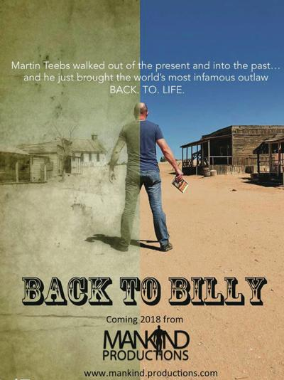 Billy the Kid series, filmed in New Mexico, goes back in time