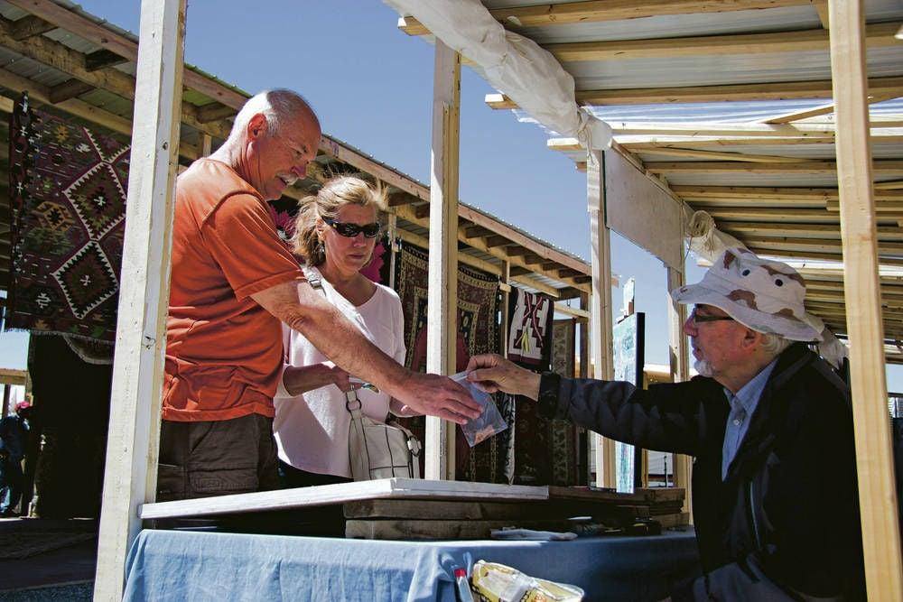 Tesuque Flea Market Vendors Find New Home At Pojoaque Pueblo