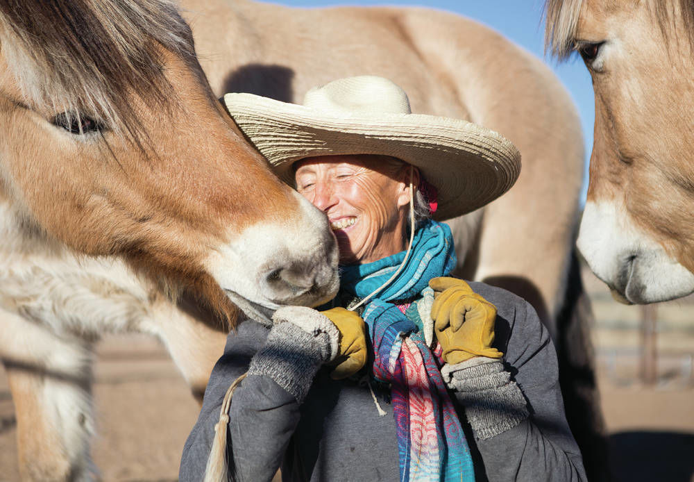 After riding thousands of miles on horseback, Montanan makes pit stop in N.M.