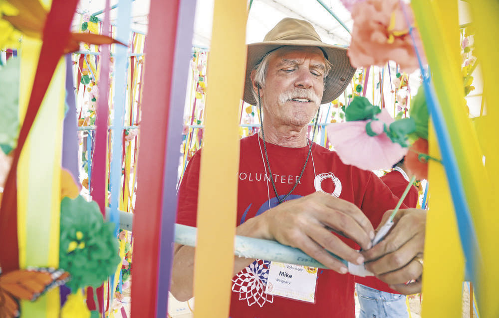 Fashion reigns at this year's International Folk Art Market