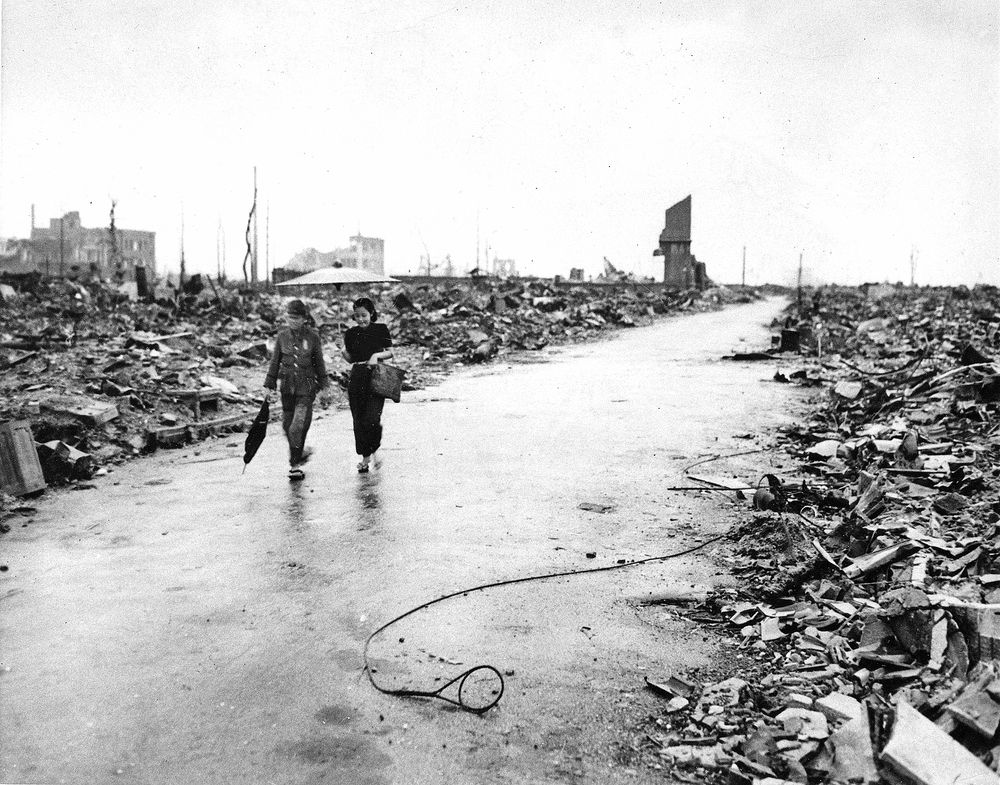 Photo essay: Hiroshima after the bomb — and today