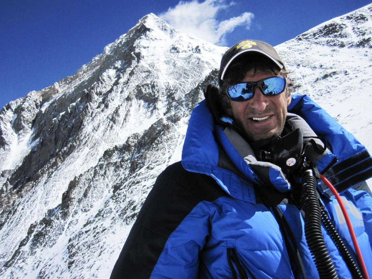 Dave Hahn on Everest