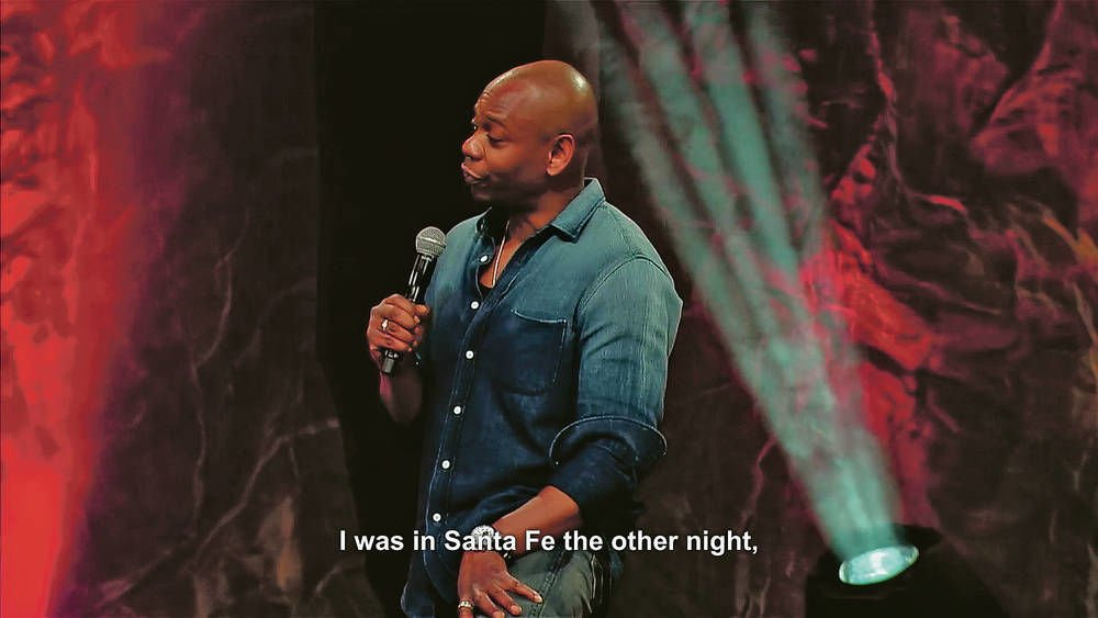 Banana peel thrower sues Dave Chappelle