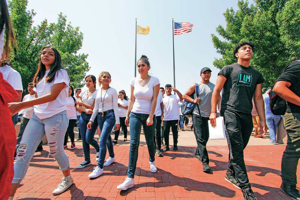 Santa Fe Dreamers stand united after Trump's decision