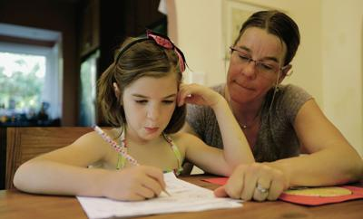 Homework can facilitate bonding between parents and kids