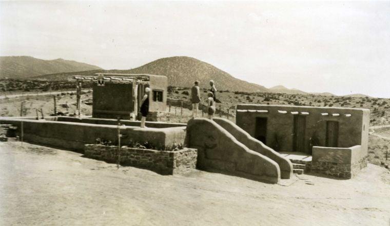 White sisters' swimming pool, circa 1924
