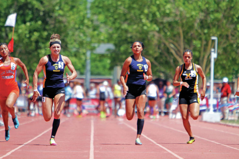 Santa Fe High misses state track and field title by 10 meters