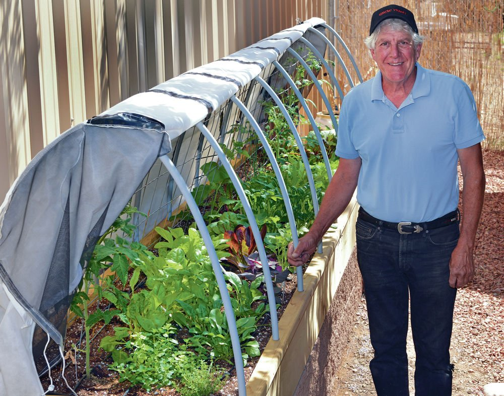 Santa Fe business crafts raised garden beds for year-round growing