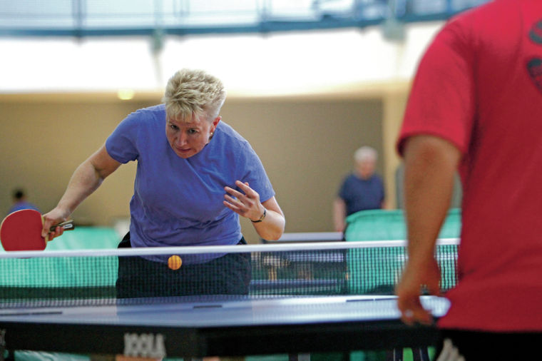 Pingpong open draws serious competition