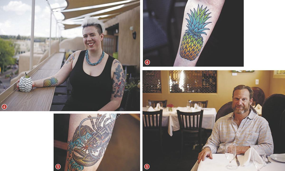 Tatted restaurant workers 2