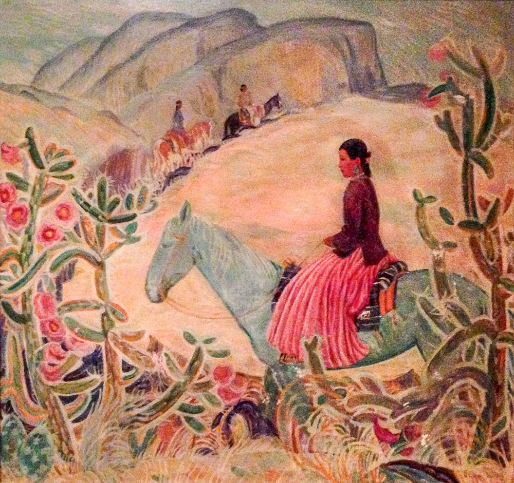 The Dean Of Santa Fe Women Artists Painter Olive Rush Books Santafenewmexican Com