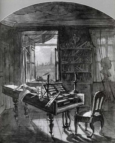 beethoven's room