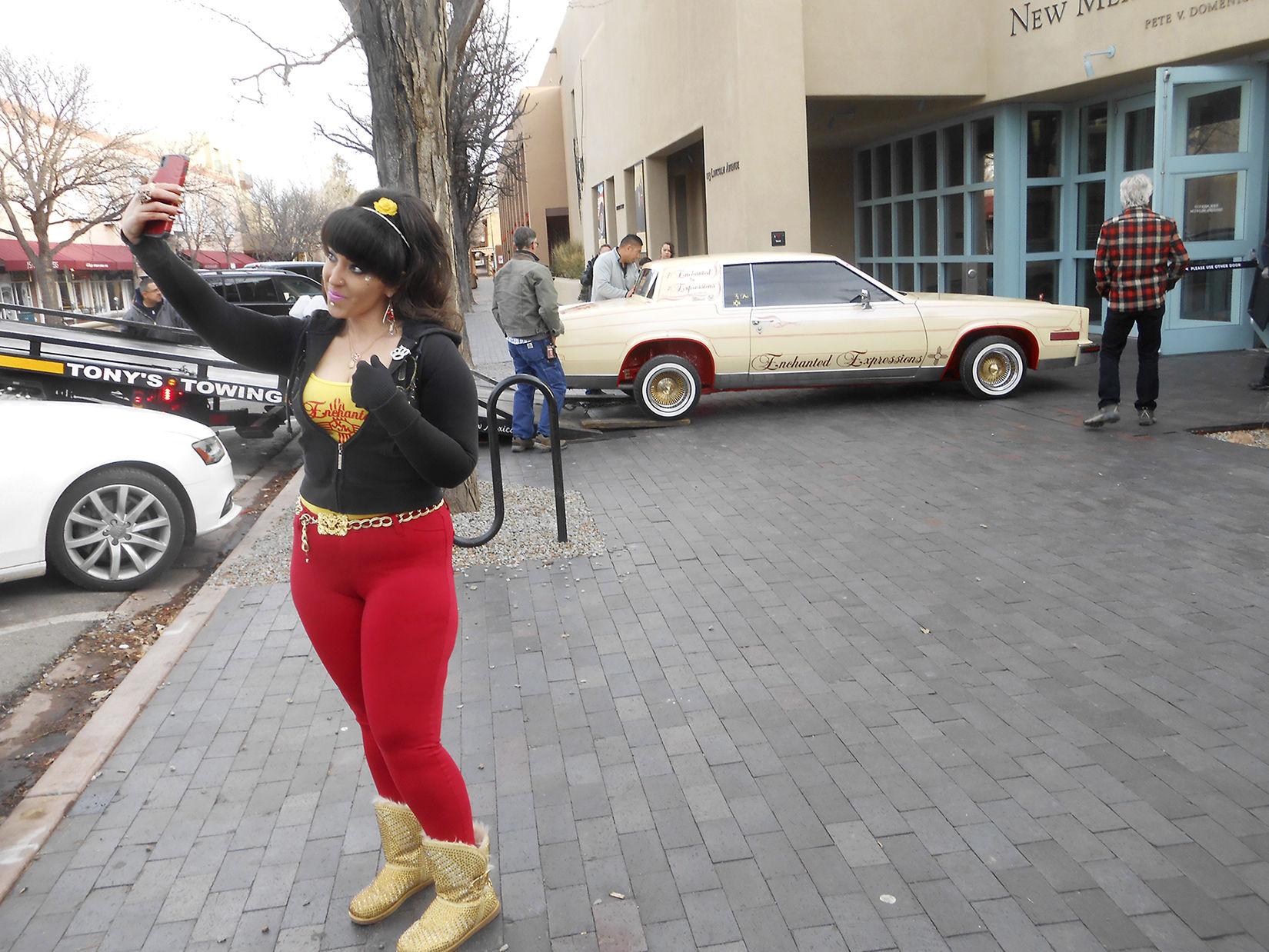 presenting miss 505 justice lovato s cadillac eldorado lowrider Blue Cadillac Lowriders Denver Colorado presenting miss 505 justice lovato s cadillac eldorado lowrider