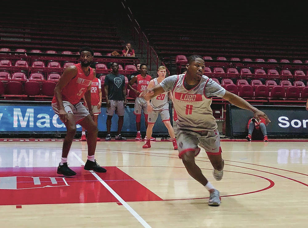 Caldwell, other new guards give Lobos hope