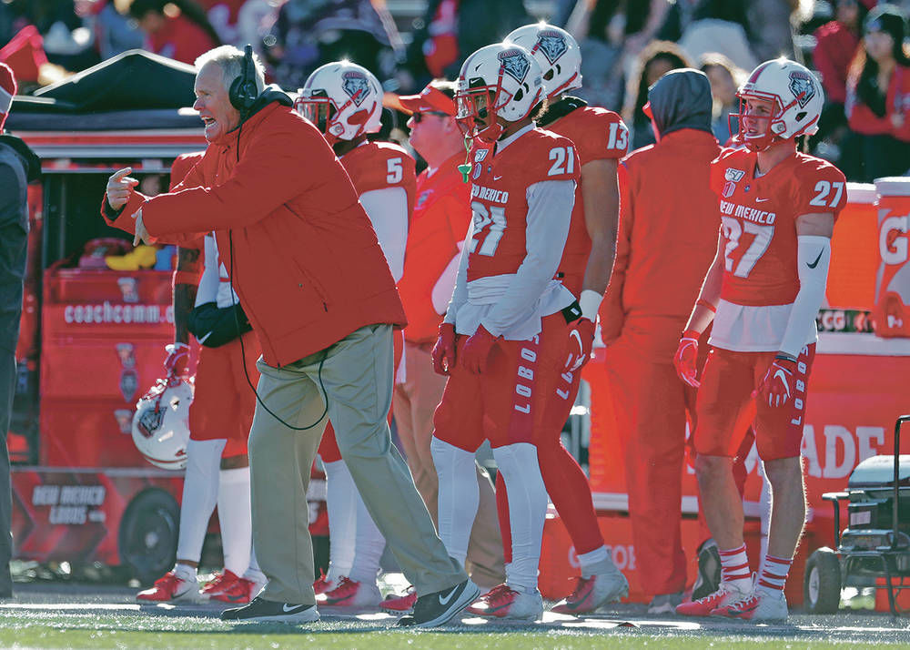 Davie era ends with whimper as Lobos begin search for new coach