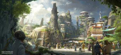 Stormtroopers ready for Star Wars land crowds