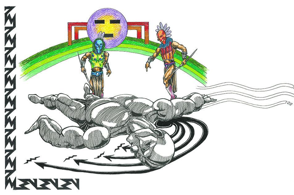 Cosmic duo: Retelling the Navajo Monster Slayers myth