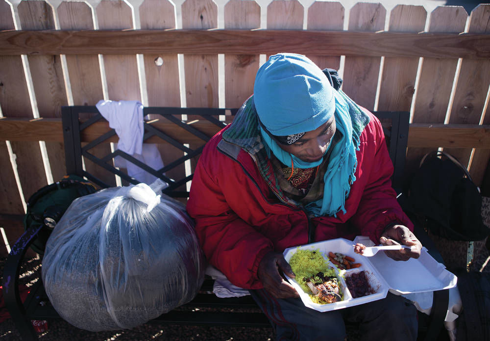 Man aims to feed homeless on days other than Thanksgiving