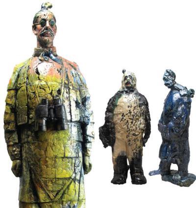Wanxin Zhang sculptures