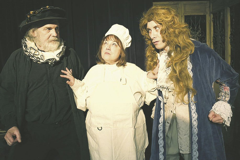 15 Mixed Media_The Miser at Oasis Theatre 1