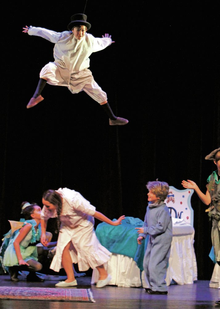 Stage magic: Young actors take flight in 'Peter Pan