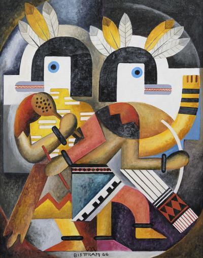 Emil Bisttram at Addison Rowe Gallery